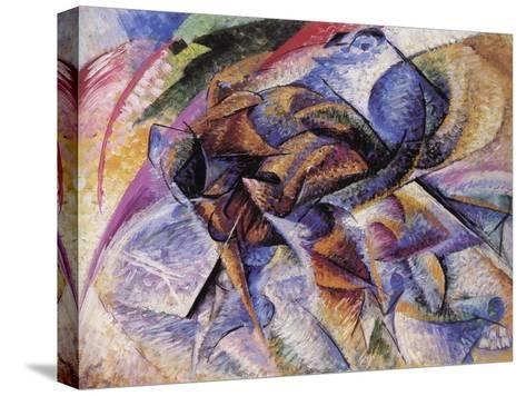 The Dynamism of a Cyclist-Umberto Boccioni-Stretched Canvas Print