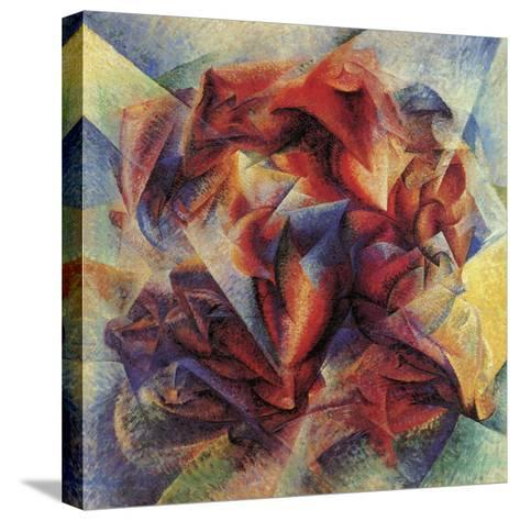 The Dynamism of a Soccer Player-Umberto Boccioni-Stretched Canvas Print