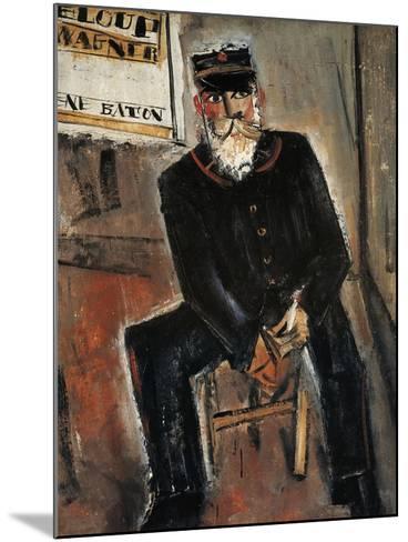 Postman, Paris-Yuzo Saeki-Mounted Giclee Print