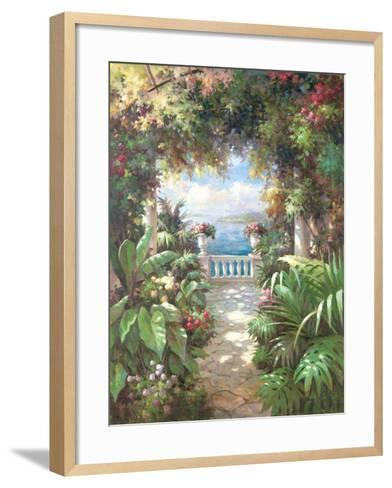 Terrace Retreat-James Reed-Framed Art Print