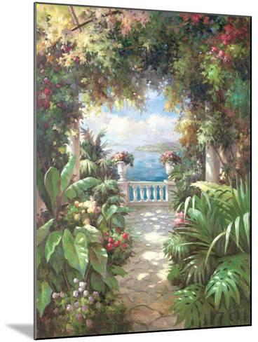Terrace Retreat-James Reed-Mounted Art Print