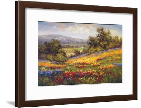 Campo di Fiore I-Hulsey-Framed Art Print
