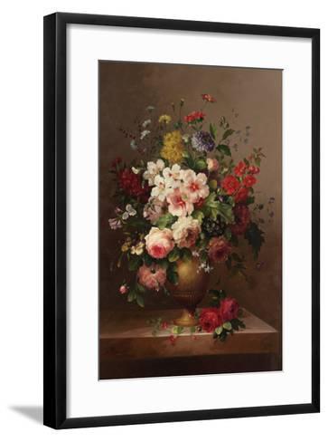 Classic Bouquet II--Framed Art Print