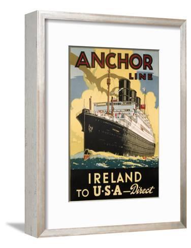 Ireland and USA--Framed Art Print