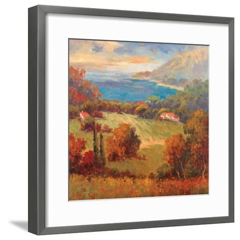Tuscan Hill View-K^ Park-Framed Art Print