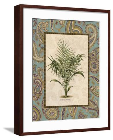 Paisley Palm IV--Framed Art Print