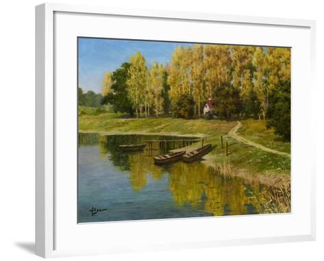 End of the Summer-Hilger-Framed Art Print