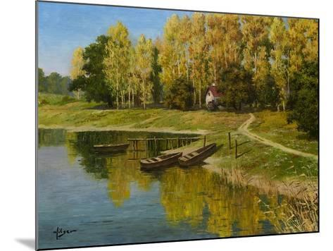 End of the Summer-Hilger-Mounted Premium Giclee Print