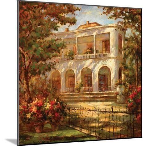Portico at Sunset-Enrique Bolo-Mounted Art Print