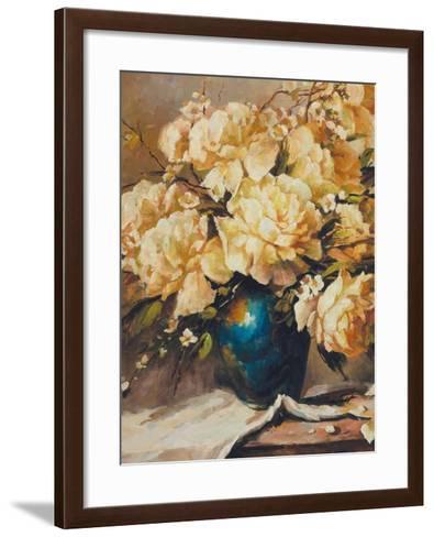 Roses in Full Bloom-Walt-Framed Art Print