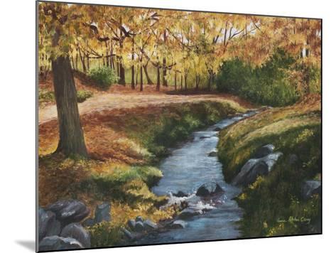 Cool Water-Lene Alston Casey-Mounted Premium Giclee Print