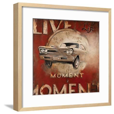 Live Life-Janet Kruskamp-Framed Art Print