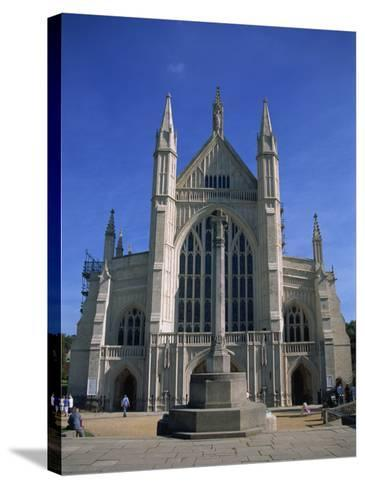 Winchester Cathedral, Hampshire, England, United Kingdom, Europe-Nelly Boyd-Stretched Canvas Print
