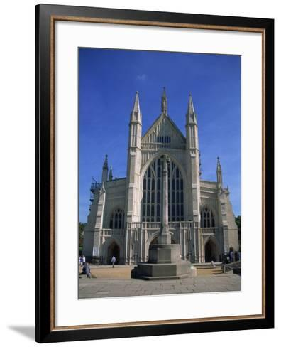 Winchester Cathedral, Hampshire, England, United Kingdom, Europe-Nelly Boyd-Framed Art Print