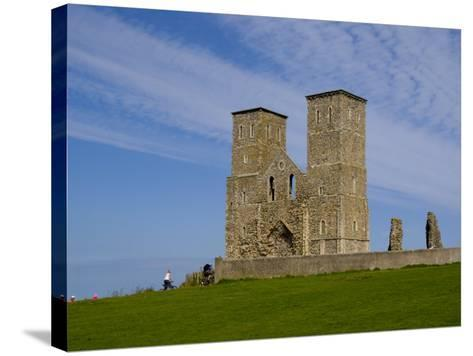 Reculver Towers, Herne Bay, Kent, England, United Kingdom, Europe-Charles Bowman-Stretched Canvas Print