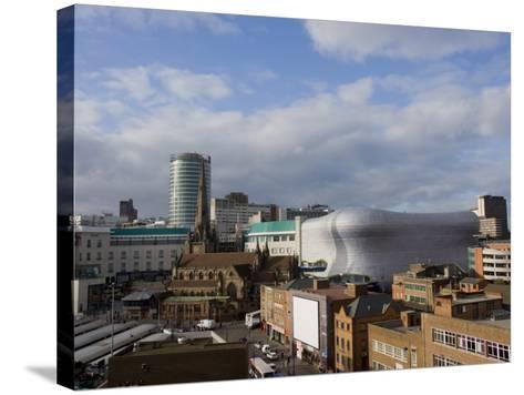 City Skyline, Including Selfridges, Birmingham, England, United Kingdom, Europe-Charles Bowman-Stretched Canvas Print