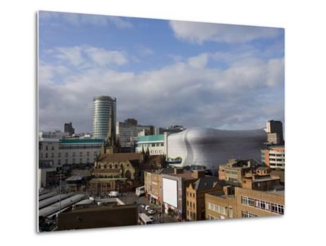 City Skyline, Including Selfridges, Birmingham, England, United Kingdom, Europe-Charles Bowman-Metal Print