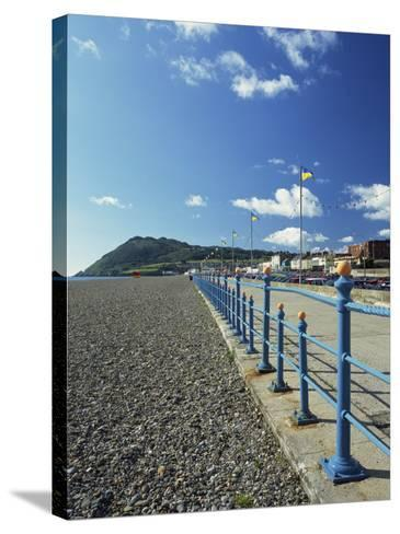 Bray Promenade and Beach Towards Bray Head, Bray, County Dublin, Republic of Ireland-Pearl Bucknall-Stretched Canvas Print