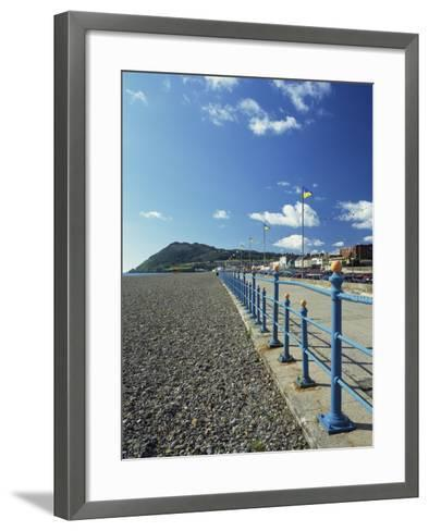 Bray Promenade and Beach Towards Bray Head, Bray, County Dublin, Republic of Ireland-Pearl Bucknall-Framed Art Print