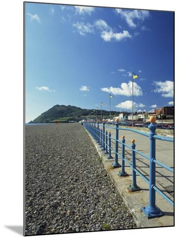 Bray Promenade and Beach Towards Bray Head, Bray, County Dublin, Republic of Ireland-Pearl Bucknall-Mounted Photographic Print