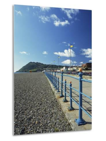 Bray Promenade and Beach Towards Bray Head, Bray, County Dublin, Republic of Ireland-Pearl Bucknall-Metal Print