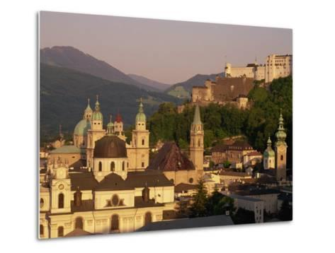 City Skyline, Salzburg, Austria, Europe-Jean Brooks-Metal Print