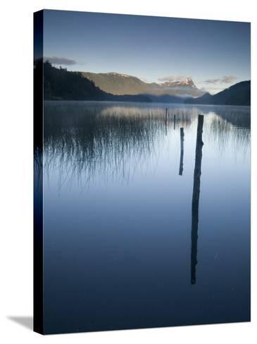 Lago Espejo, Siete Lagos Region, Nahuel Huapi National Park, Rio Negro, Argentina, South America-Colin Brynn-Stretched Canvas Print