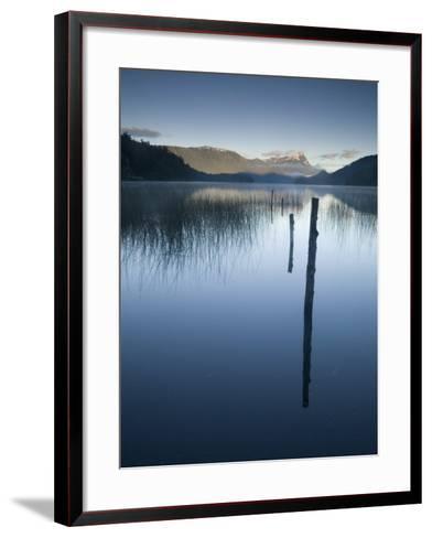 Lago Espejo, Siete Lagos Region, Nahuel Huapi National Park, Rio Negro, Argentina, South America-Colin Brynn-Framed Art Print