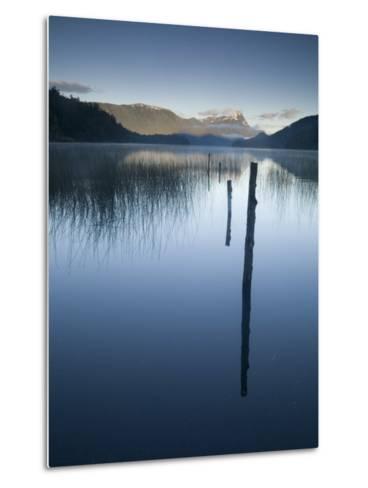Lago Espejo, Siete Lagos Region, Nahuel Huapi National Park, Rio Negro, Argentina, South America-Colin Brynn-Metal Print