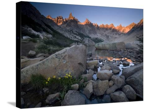 Cerro Catedral and Lago Toncek, Nahuel Huapi National Park, Bariloche, Patagonia, Argentina-Colin Brynn-Stretched Canvas Print