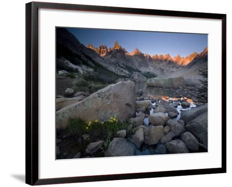 Cerro Catedral and Lago Toncek, Nahuel Huapi National Park, Bariloche, Patagonia, Argentina-Colin Brynn-Framed Art Print
