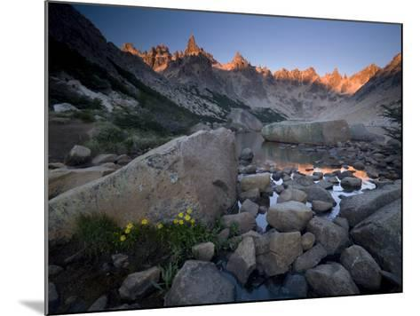 Cerro Catedral and Lago Toncek, Nahuel Huapi National Park, Bariloche, Patagonia, Argentina-Colin Brynn-Mounted Photographic Print
