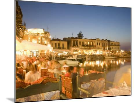 Waterfront, Rethymnon, Crete, Greece, Europe-Angelo Cavalli-Mounted Photographic Print