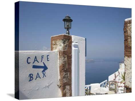Santorini, Cyclades, Greek Islands, Greece, Europe-Angelo Cavalli-Stretched Canvas Print