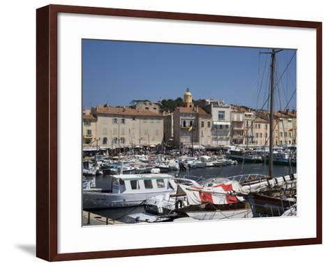St. Tropez, Var, Provence, Cote D'Azur, French Riviera, France, Mediterranean, Europe-Angelo Cavalli-Framed Art Print