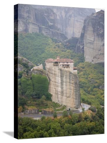 Meteora, UNESCO World Heritage Site, Greece, Europe-Angelo Cavalli-Stretched Canvas Print