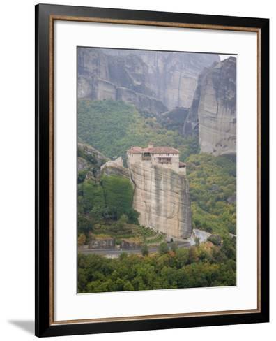 Meteora, UNESCO World Heritage Site, Greece, Europe-Angelo Cavalli-Framed Art Print