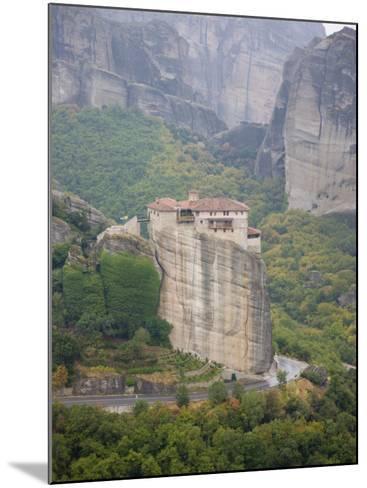 Meteora, UNESCO World Heritage Site, Greece, Europe-Angelo Cavalli-Mounted Photographic Print