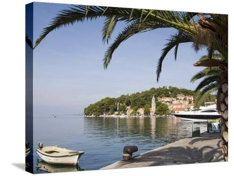 Harbour at Cavtat on the Dalmation Coast, Croatia, Europe-Martin Child-Stretched Canvas Print