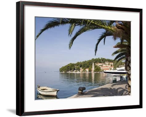 Harbour at Cavtat on the Dalmation Coast, Croatia, Europe-Martin Child-Framed Art Print