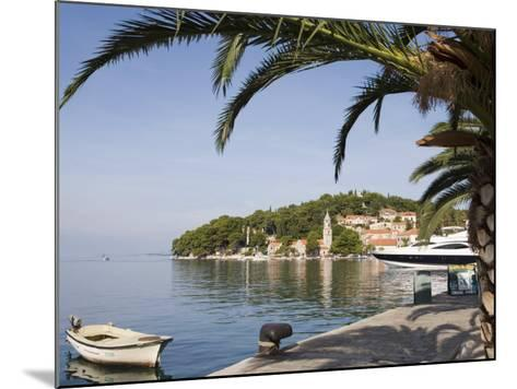 Harbour at Cavtat on the Dalmation Coast, Croatia, Europe-Martin Child-Mounted Photographic Print