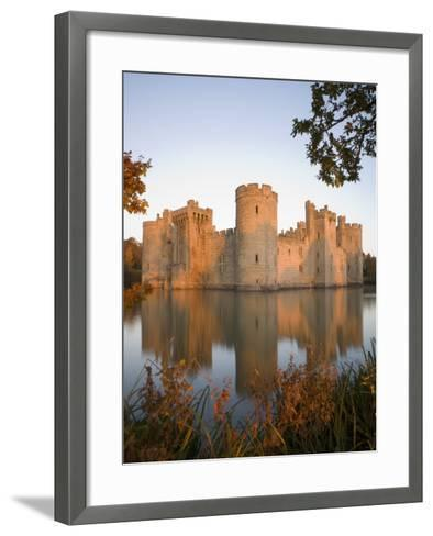 Bodiam Castle, East Sussex, England, United Kingdom, Europe-Mark Banks-Framed Art Print