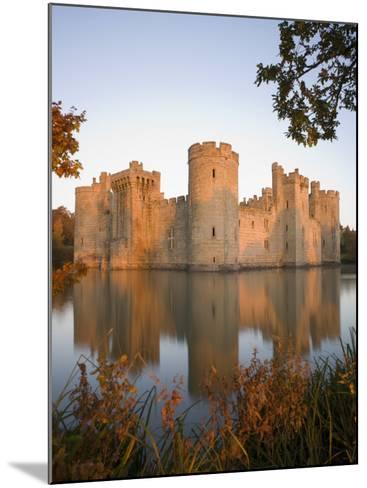Bodiam Castle, East Sussex, England, United Kingdom, Europe-Mark Banks-Mounted Photographic Print