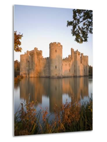 Bodiam Castle, East Sussex, England, United Kingdom, Europe-Mark Banks-Metal Print