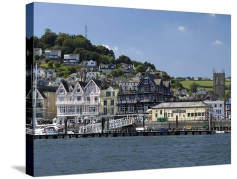 Dartmouth Waterfront, South Devon, England, United Kingdom, Europe-Rob Cousins-Stretched Canvas Print