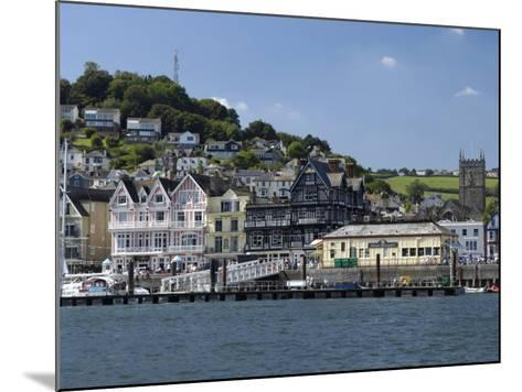 Dartmouth Waterfront, South Devon, England, United Kingdom, Europe-Rob Cousins-Mounted Photographic Print