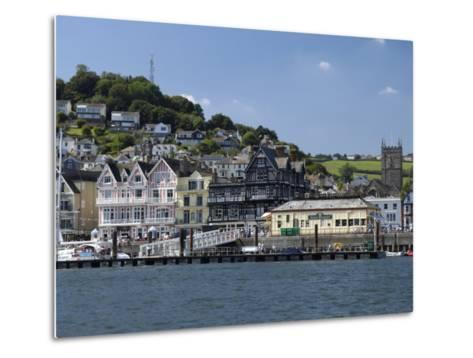Dartmouth Waterfront, South Devon, England, United Kingdom, Europe-Rob Cousins-Metal Print