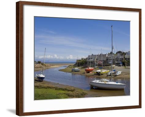 River Soch Estuary, Abersoch, St.Tudwals Road, Llyn Peninsula, Gwynedd, North Wales, Wales, UK-Neale Clarke-Framed Art Print