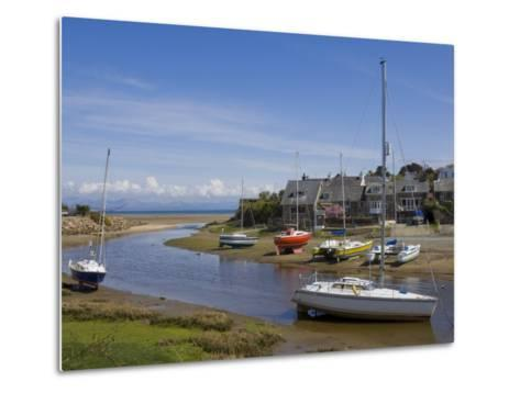 River Soch Estuary, Abersoch, St.Tudwals Road, Llyn Peninsula, Gwynedd, North Wales, Wales, UK-Neale Clarke-Metal Print