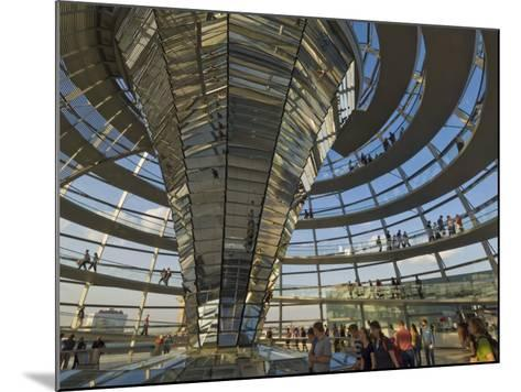 Reichstag Building, Designed by Sir Norman Foster, Berlin, Germany-Neale Clarke-Mounted Photographic Print